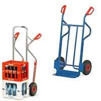 Hand- and sack trucks, stair carts