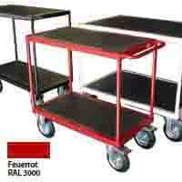 Transport equipment in special colours - all RAL colours possible - ask us!
