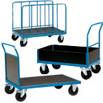 VARIO transporters and robust transport trolley